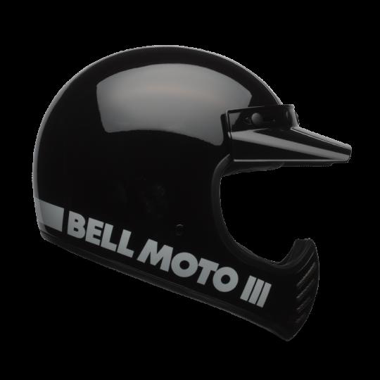 Bell Moto 3 Classic Black