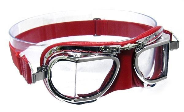 """HALCYON Brille - """"Mark 49 Compact"""" - rot"""