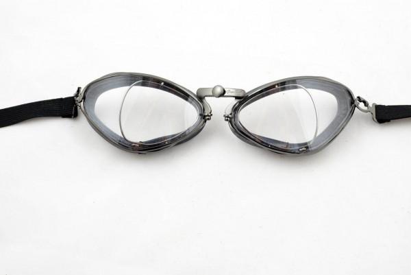 "AVIATOR Goggles - ""Mod. 4400 optical"" -gunmetal & rubber"