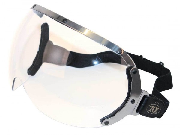 "SEVENTIES Visierbrille - ""Goggle"" - transparent"