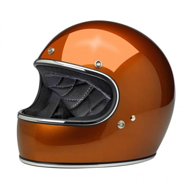 Biltwell Integralhelm Gringo Farbe Copper mit ECE DOT