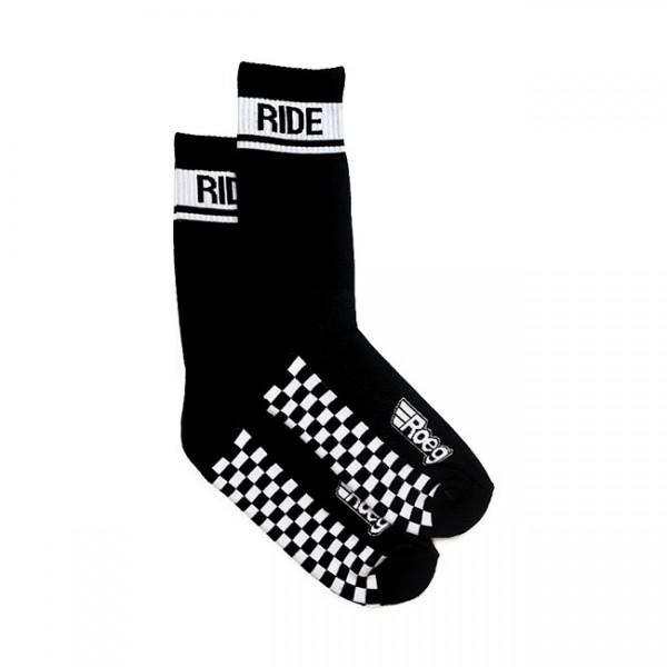 ROEG Socken Early Finish in schwarz