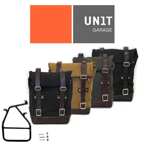 "UNITGARAGE - ""Side Pannier Canvas + Subframe nineT Series"" for BMW"