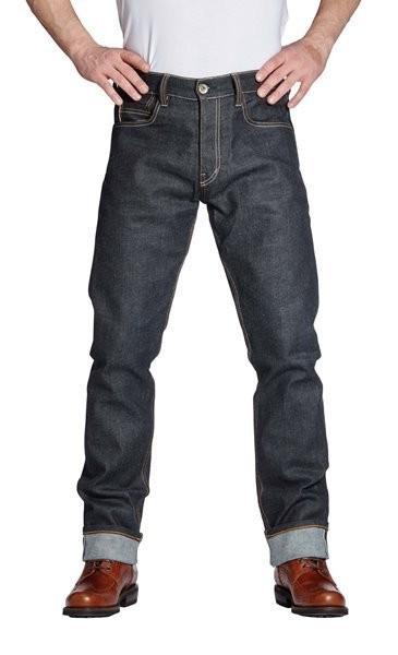 "ROKKER Jeans - ""Iron Selvage Raw 1"" - dunkelblau"