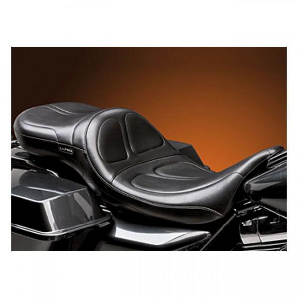 """LEPERA Seat - """"LePera, Maverick 2-up seat. Daddy Long Legs. Gel"""" - 08-20 Touring"""