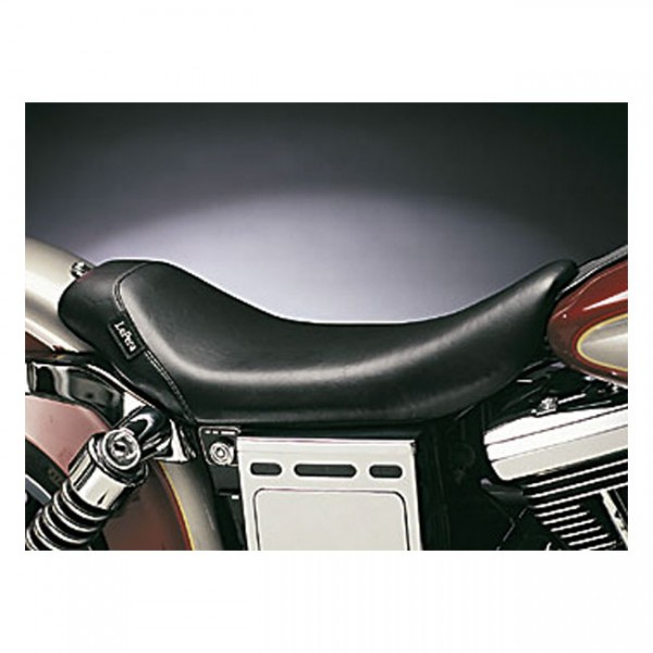 """LEPERA Seat - """"LePera, Bare Bones solo seat. Smooth"""" - 91-95 Dyna (excl. FXDWG) (NU)"""