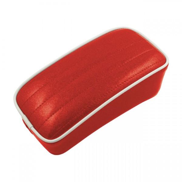 """LEPERA Sitz - """"Metalflake Passenger seat. Candy Red"""" - Universal"""