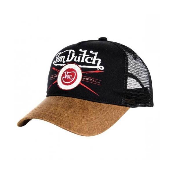 """VON DUTCH Cap - """"Black Pinup"""" - schwarz & braun"""
