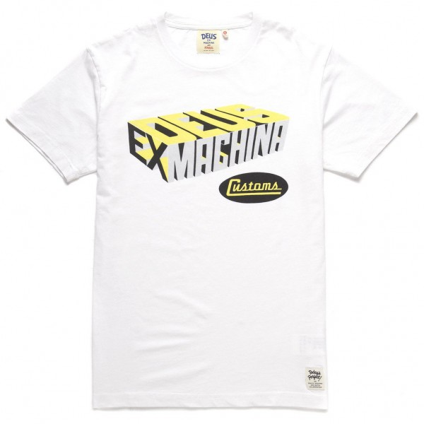 "DEUS EX MACHINA T-Shirt - ""Perps Tee"" - white"