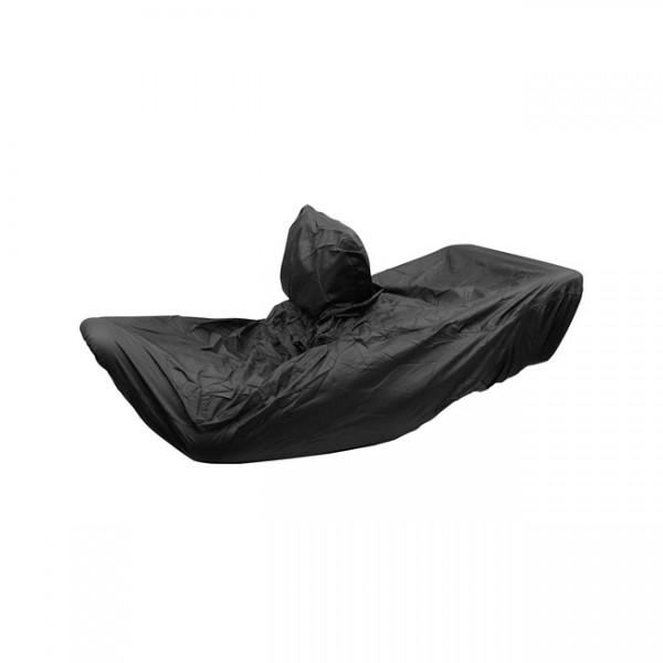 "MUSTANG Seat - ""Mustang rain cover seat plain black"" - 01-17 Honda Gold Wing GL1800"