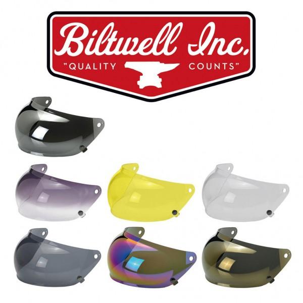 "BILTWELL Gringo S Visor - ""Bubble"" - DOT helmets"