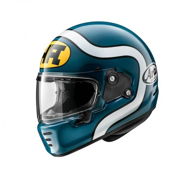 """ARAI Helm Concept X """"HA Blue"""" ECE"""