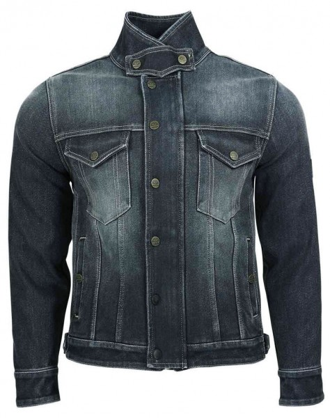 """ROKKER Jacke - """"Rokkertech Rider Jacket"""" - grau-blau"""