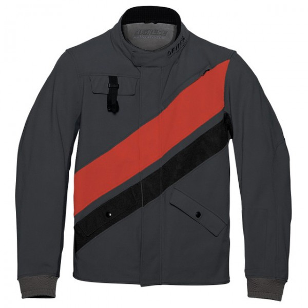 DAINESE 72 Jacket Kayes Tex black and red