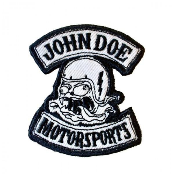 JOHN DOE Patch Freak in white