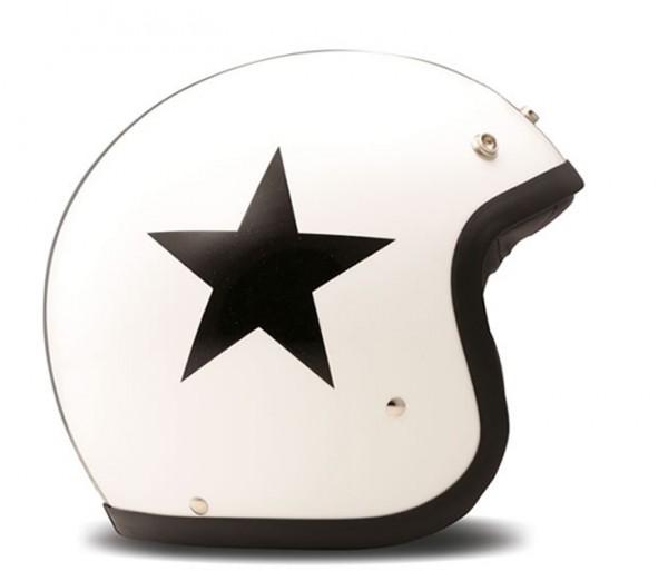 DMD Jethelm Vintage Star White
