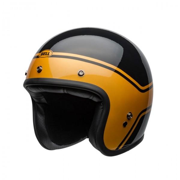 BELL Custom 500 Streak Black Gold ECE & DOT