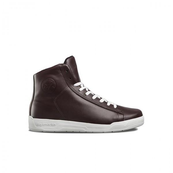 STYLMARTIN Motorrad Sneaker Core WP in Braun