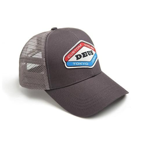 DEUS EX MACHINA hat Loco Trucker in grey