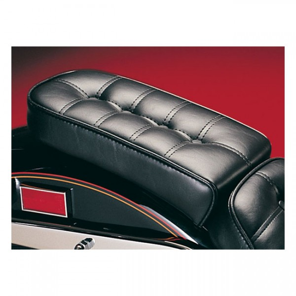 "LEPERA Sitz - ""Cobra Passenger seat. Pleated"" - 84-99 Softail (NU)"