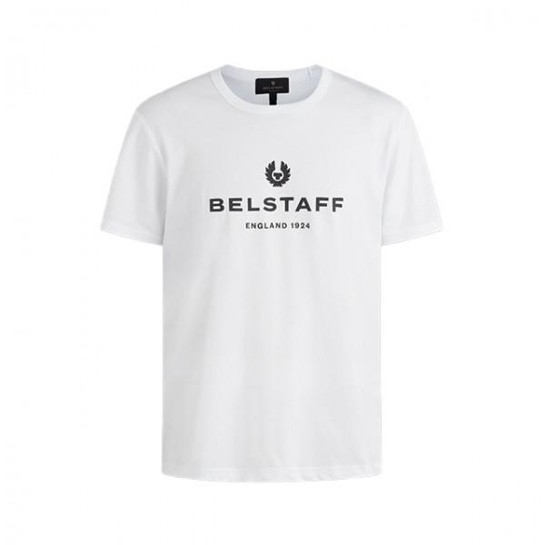 BELSTAFF T-Shirt 1924 in Weiß