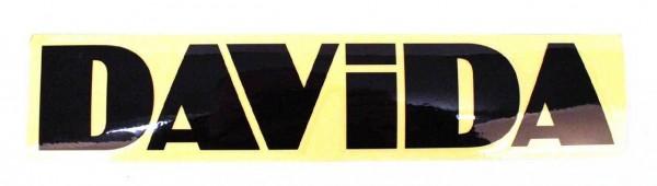 "DAVIDA Sticker - ""DAVIDA"" - black"