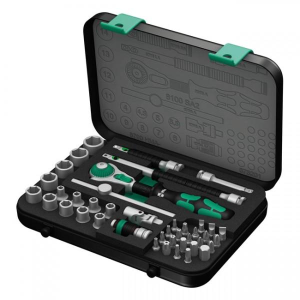 """WERA Werkzeug - """"Wera 8100 SA 2 Zyklop Speed Ratschensatz 1/4"""" Antrieb - metrisch"""""""