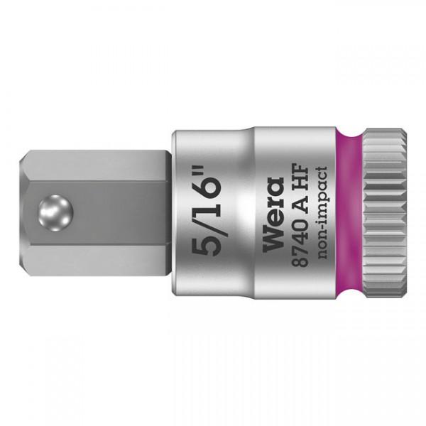"WERA Tools - ""Zyklop 1/4"" Hex socket bit w/ holding function US sizes"" - Hex (Allen head) bolts/screws"