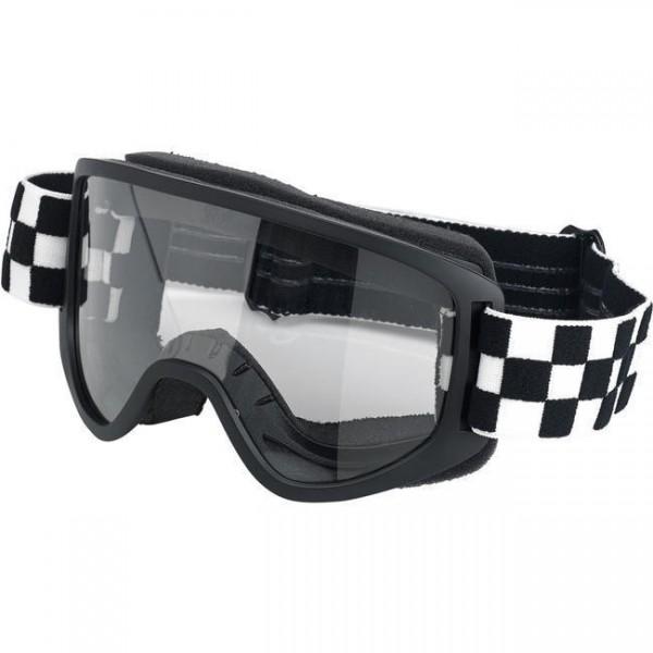 BILTWELL Cross Brille Moto 2.0 Goggle Checkers Black