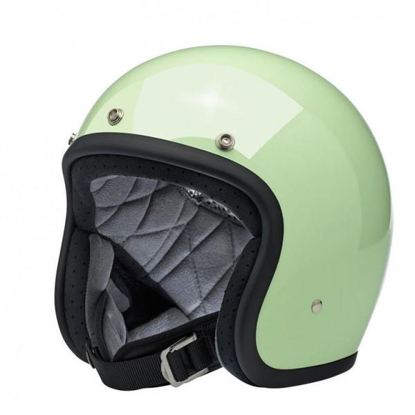Biltwell Bonanza Mint DOT Open Face Helmet