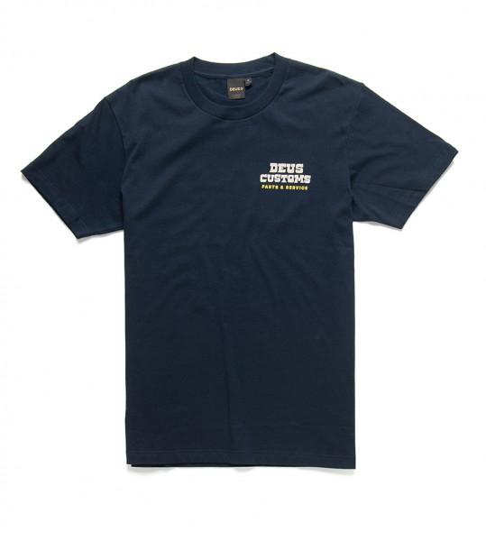 DEUS EX MACHINA T-Shirt Automatica in Blau