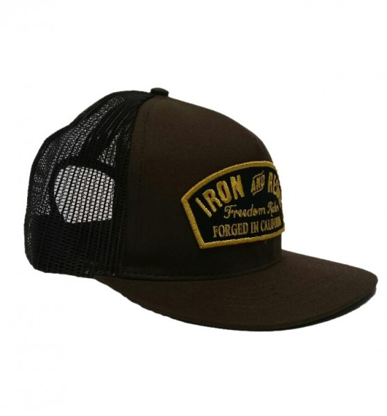 "IRON & RESIN Hat - ""Ranger"" - brown"