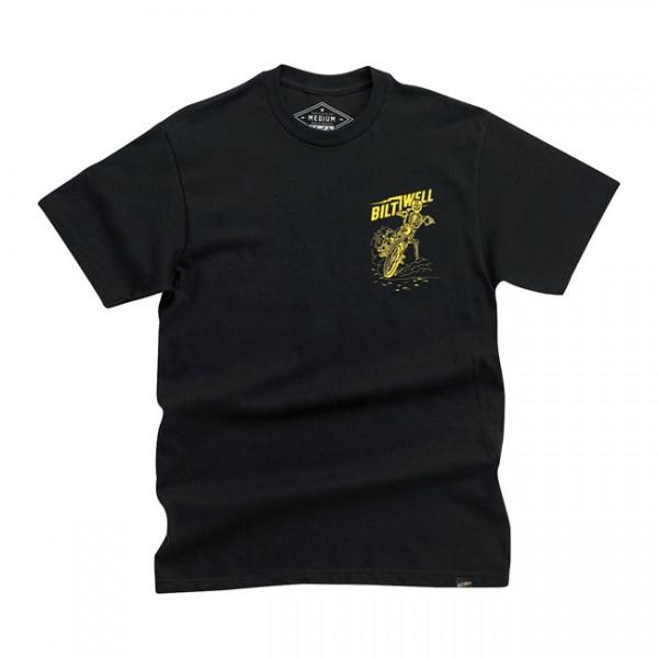BILTWELL Skid T-Shirt schwarz