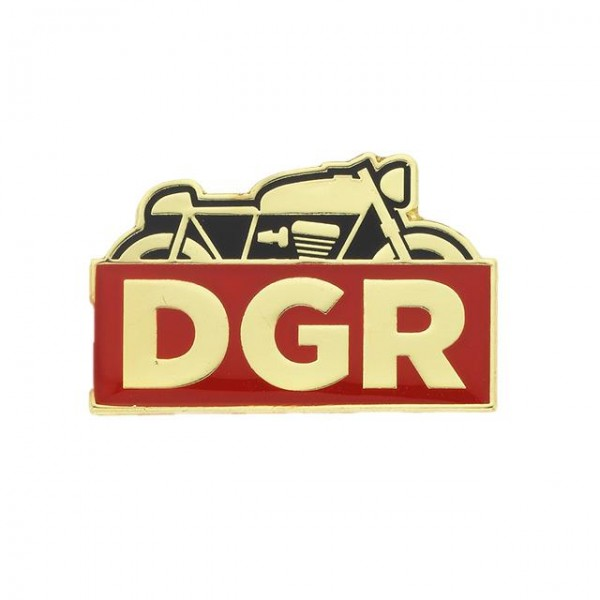 DGR Anstecker Racer Pin in gold