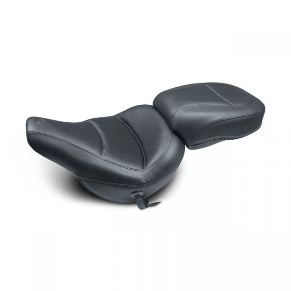 """MUSTANG Seat - """"Mustang, Standard Touring passenger seat"""" - 18-20 Softail FLHC/S Heritage Classic, FLDE Deluxe"""
