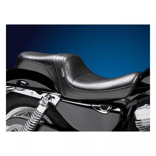 "LEPERA Sitz - ""Daytona 2-up seat. Smooth"" - 04-20 XL (excl. 07-09 XL) with 3.3 gallon fuel tank"