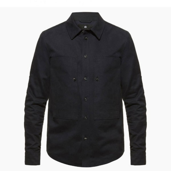 "ASHLEY WATSON Riding Shirt - ""Hockliffe Overshirt"" - navy"