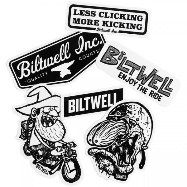 "BILTWELL Stickers - ""Fartco Sticker Pack"" - 6 pieces"