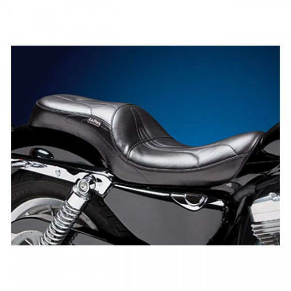 "LEPERA Seat - ""LePera, Sorrento 2-up seat"" - 07-09 XL with 4.5 gallon tank (NU)"