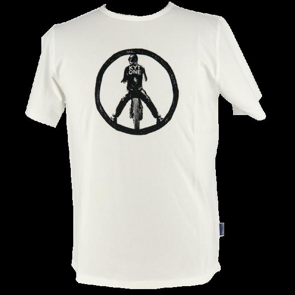 Kytone T-Shirt Peace white