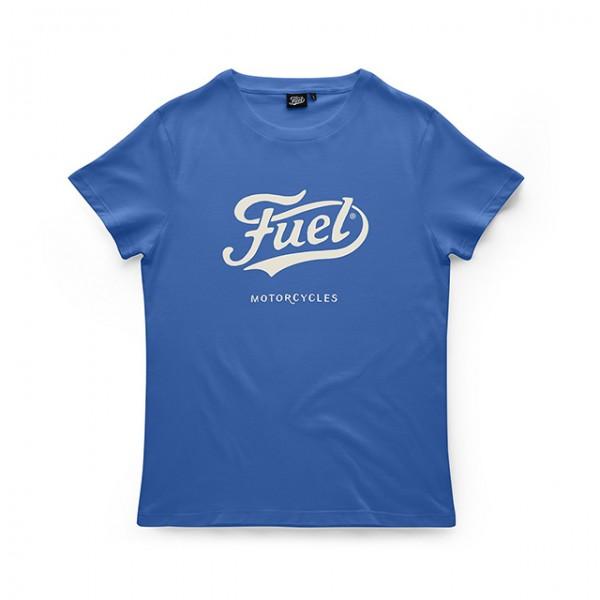 Fuel T-Shirt Navy mit weißem Logo