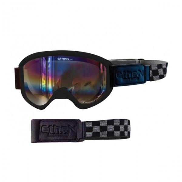 ETHEN Brille Bobber 03 mit Regenbogen verspiegeltem Glas