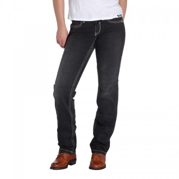 """ROKKER Damen Jeans - """"The Lady"""" - schwarz"""