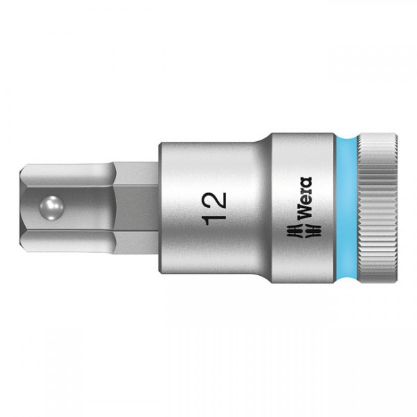 """WERA Tools - """"Zyklop 1/2"""" Hex socket bit with holding function"""" - 1/2"""" drive"""