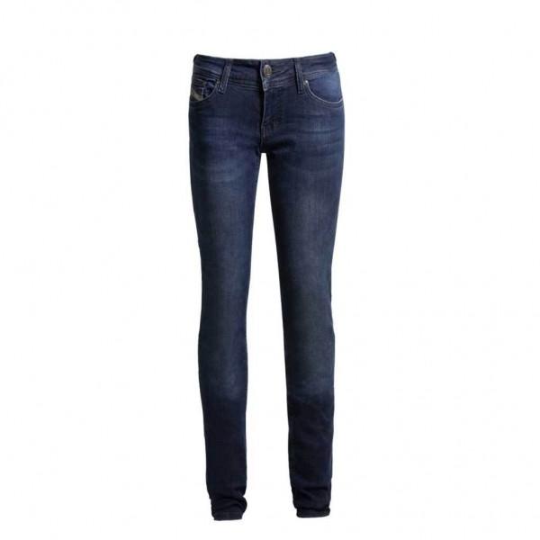 "JOHN DOE Damen Jeans - ""High Waist Betty""- indigo"