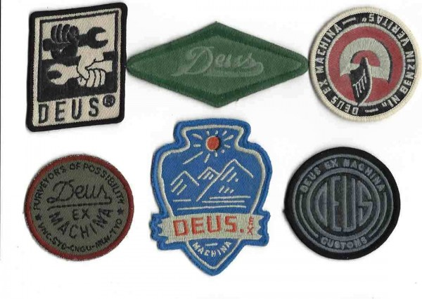 """DEUS EX MACHINA Patches - """"Patch Pack 87105"""" - set of 6 patches"""