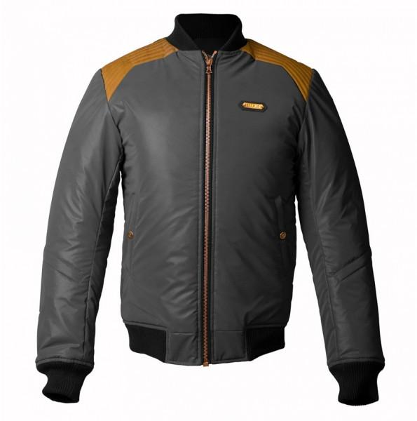 "HEDON Jacket - ""Mirage Stable Black"" - reflective, waterproof"