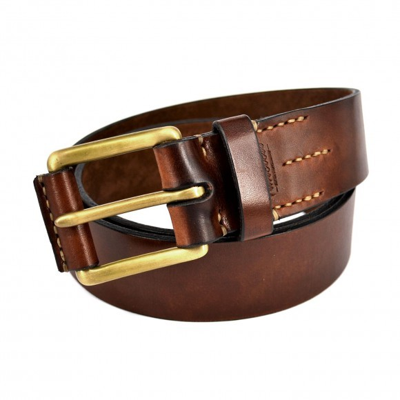 """TIMELESS LEATHER - """"No. 21 Belt"""" - brown"""