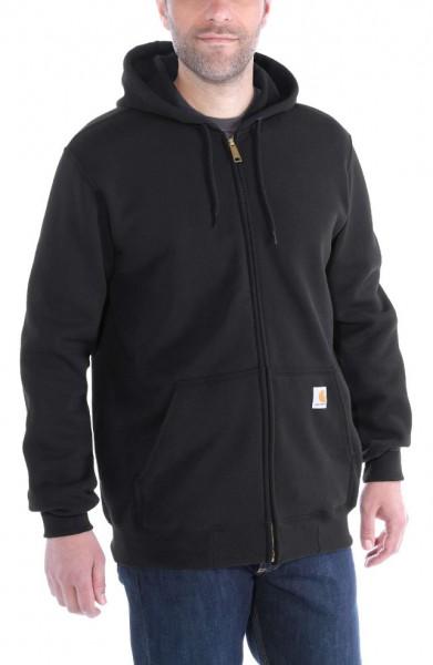 """CARHARTT Hoodie - """"Midweight Hooded Zip-Front Sweatshirt"""" - schwarz"""