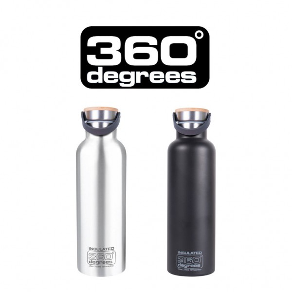 "360 DEGREES Bottle - ""Vacuum Insulated"" - 750ml"